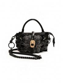 Borse online: Innerraum borsetta a tracolla nera, grigia e beige