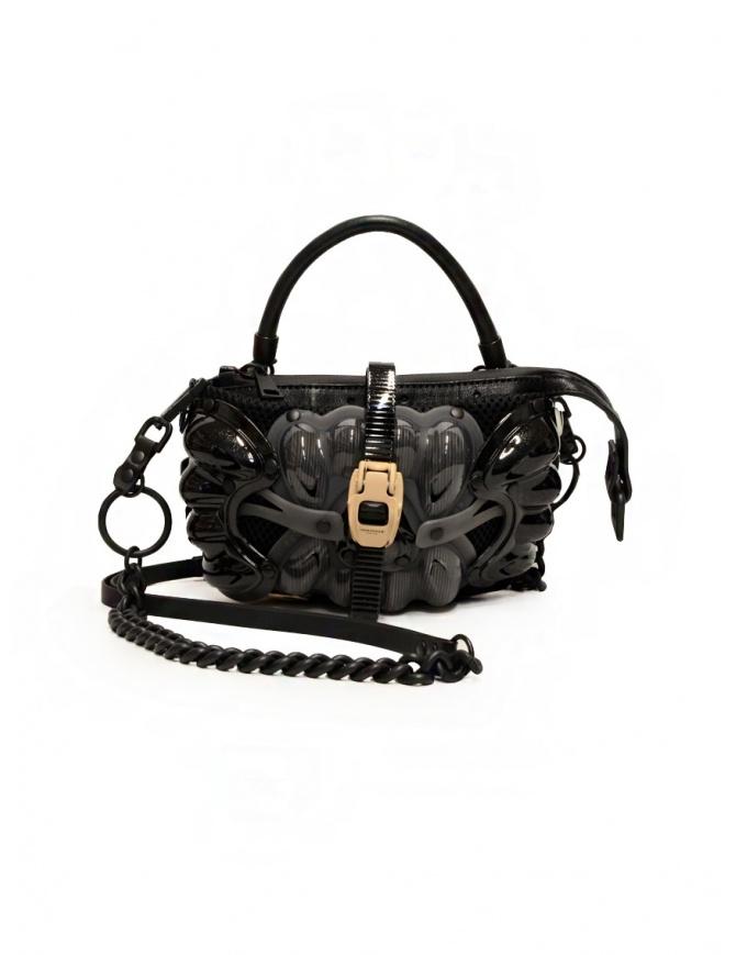 Innerraum black, grey and beige shoulder bag I35 MIX/BK/PV POCHETTE bags online shopping