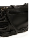 Innerraum black shoulder bag in leather, rubber and mesh price I35 BK/BK/CH POCHETTE shop online