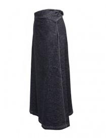 Sara Lanzi pareo denim wrap skirt