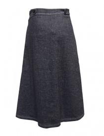 Sara Lanzi pareo denim wrap skirt price