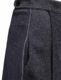 Sara Lanzi pareo denim wrap skirt womens skirts buy online