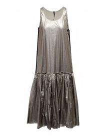 Womens dresses online: Sara Lanzi silver long tank top dress