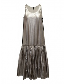 Sara Lanzi vestito a canotta lungo argentato online