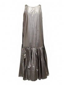 Sara Lanzi silver long tank top dress