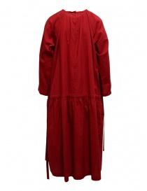 Sara Lanzi red long dress with double drawstring price