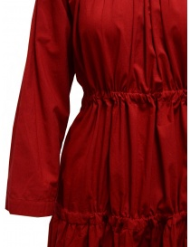 Sara Lanzi red long dress with double drawstring womens dresses price