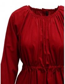 Sara Lanzi red long dress with double drawstring buy online price