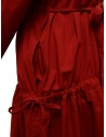Sara Lanzi red long dress with double drawstring price 02E.CO2.05 RED shop online