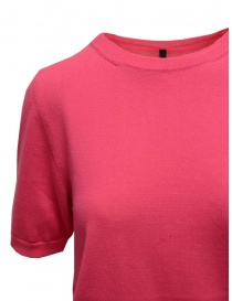 Sara Lanzi fuchsia pink cotton knit t-shirt price