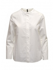 Sara Lanzi white shirt with Mandarin collar online