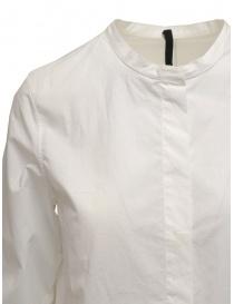 Sara Lanzi white shirt with Mandarin collar price