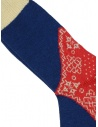 Kapital blue red and white patterned socks shop online socks