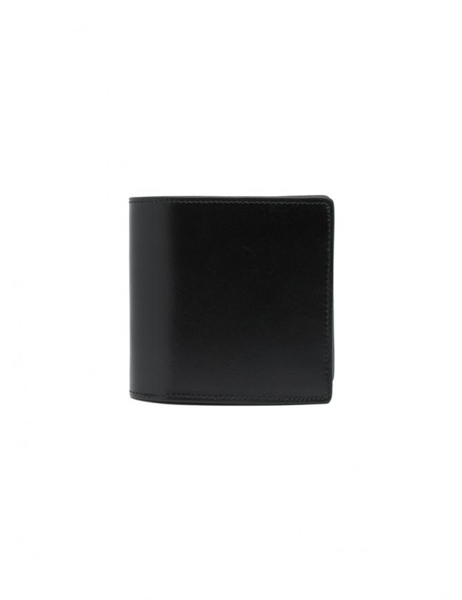 Kapital portafoglio in pelle nera con due stelle K2103XG527 BLACK portafogli online shopping