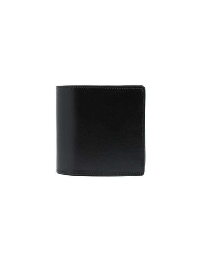 Kapital wallet in black leather with two stars K2103XG527 BLACK wallets online shopping