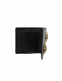 Kapital wallet in black leather with two stars price