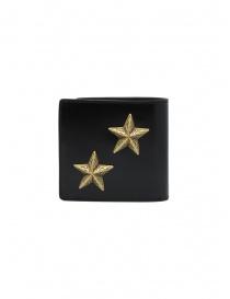 Kapital portafoglio in pelle nera con due stelle portafogli acquista online