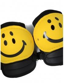 Kapital ginocchiere nere Rain con smile gialli