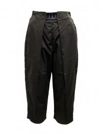 Kapital Easy Beach pantalone grigio scuro con fascia in velcro online