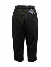 Kapital Easy Beach pantalone grigio scuro con fascia in velcro