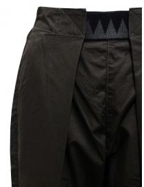 Kapital Easy Beach dark grey pants with velcro band price