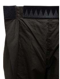 Kapital Easy Beach dark grey pants with velcro band womens trousers buy online