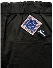 Kapital Easy Beach dark grey pants with velcro band womens trousers price