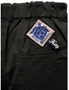 Kapital Easy Beach dark grey pants with velcro band price UNISEX EK-905 DARKGRAY shop online