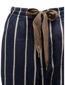 Kapital Phillies stripe Easy navy blue pants price