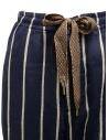 Kapital Phillies stripe Easy navy blue pants EK-1049 NAVY price