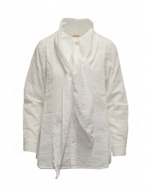 Kapital white shirt with bow at the neck online