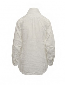 Kapital white shirt with bow at the neck