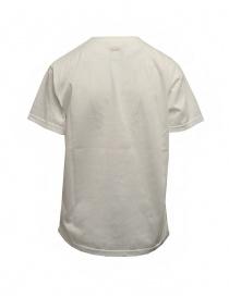 Kapital Opal Tenjiku white t-shirt with mesh cob