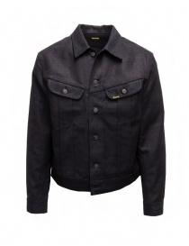 Kapital dark blue trucker jacket with sahisko stitching KAP-103 No.1.2.3-S