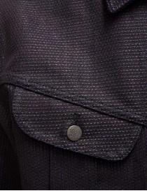 Kapital dark blue trucker jacket with sahisko stitching mens jackets buy online
