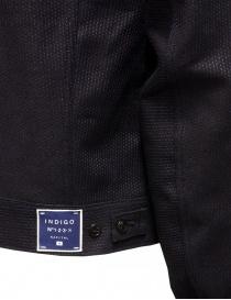 Kapital dark blue trucker jacket with sahisko stitching mens jackets price