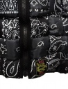 Kapital reversible padded vest in black Keel nylon price EK-1001 BLK shop online