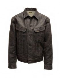 Kapital dark brown sashiko denim jacket online