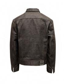 Kapital dark brown sashiko denim jacket