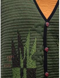 Kapital Hyper Chimayo Best 3D khaki green vest price