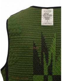 Kapital Hyper Chimayo Best 3D khaki green vest mens cardigans price