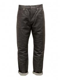 Pantaloni uomo online: Kapital jeans Century sashiko marrone scuro