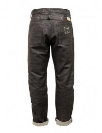 Kapital Century dark brown sashiko jeans