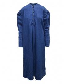 Kapital Henry long dress in denim online