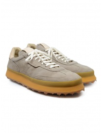 Shoto 1209 lace-up shoe in taupe suede online