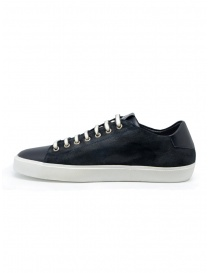 Leather Crown Pure sneakers scamosciate blu scuro