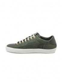 Leather Crown Pure sneakers verde militare scuro