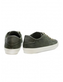 Leather Crown Pure dark military green sneakers price