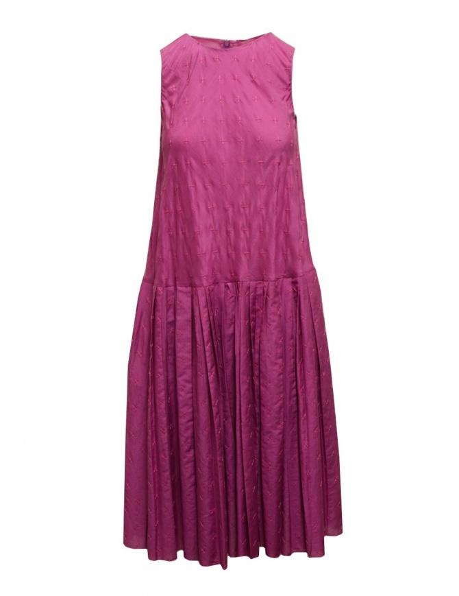 Abito Sara Lanzi colore viola DF1.CS.44 F/1 abiti donna online shopping