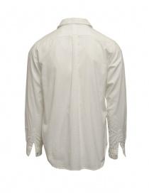 Camicia Kapital plissé bianca